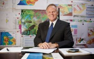 James F. Park, CEO of GeoPark