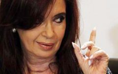 Cristina Fernandez passed legislation allowing the central bank to pay sovereign debts with central bank reserves