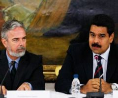 Patriota revealed that he has daily contacts with Vice-President and acting president Nicolas Maduro