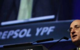 Repsol argues that its 51% stake in YPF taken over by the Argentine government is equivalent to 10bn dollars