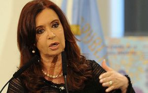 """There is an instructions booklet for looting, violence and destabilization which has several years' history"" said the Argentine president"
