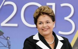 Ms Rousseff good health condition means she could very well bid for re-election in 2014. In 2009 she survived lymphoma cancer.