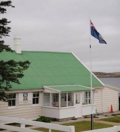 Gilbert House seat of the Falklands elected Legislative Assembly
