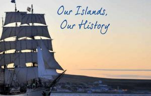 "The presentation of the booklet of  ""Our Islands, Our History"""
