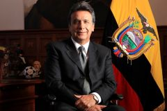 "Vice President Lenin Moreno. ""The entire government infrastructure still holds"" and a leave gives Correa more freed"