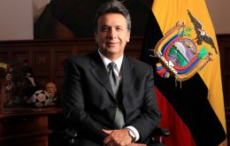 "Vice President Lenin Moreno. ""The entire government infrastructure still holds"" and a leave gives Correa more freedom of movement"