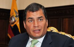 Correa could become the successor of Chavez in South America