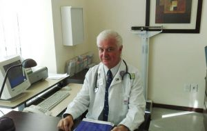 Dr. Jorge Stanham, Director of the British Hospital in Montevideo