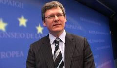 European Commissioner Employment Laszlo Andor warns of the widening North/South gap