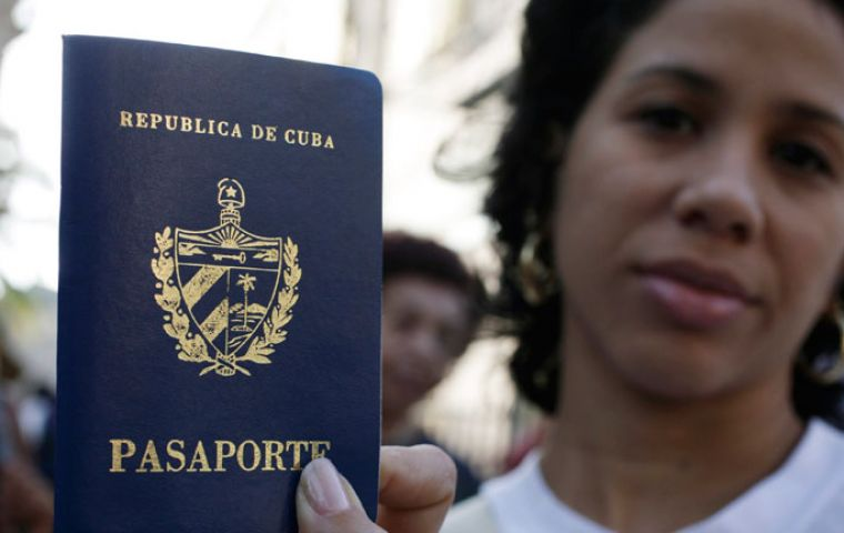 Access to passport with no White Card or an invitation letter from abroad