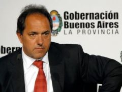 Governor Scioli is seen as a good candidate to succeed Cristina Fernandez in 2015