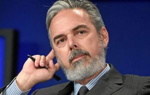 "Brazil minister Patriota: ""there is concern over an inappropriate militarization"" of the South Atlantic"