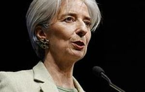 Ms Lagarde: 'it will be on February first'. If no agreement is reached IMF could implement sanctions
