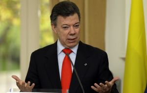 The Colombian president refuses to modify the constitution