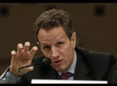 Geithner: no indication that the major, more diversified institutions are facing any funding pressure.