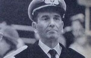 Jorge Isaac Anaya the Argentine Admiral one of the masterminds behind the Falklands invasion