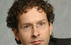 Jeroen Dijsselbloem has the strong backing from Germany