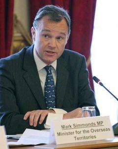 Minister for the Overseas Territories Mark Simmonds supported the measures