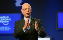 Host Klaus Schwab called on delegates to turn the corner on the Euro zone debt woes