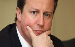 "PM Cameron argued that ""disillusionment"" with the EU was ""at an all-time high"""