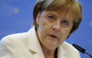 "Merkel called for a ""fair compromise"" between the wishes of Britain and other EU states."
