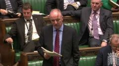 "North Bolton MP David Crausby, (Labour), ""We are quick to help but they won't help us with Falklands"""