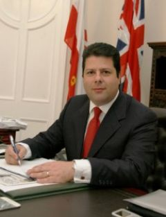 Picardo was invited by the Democrat party and is part of Gibraltar's policy to increase political links with the US