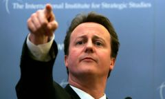 """A centralized political union? Not for me, not for Britain"" insisted Cameron"