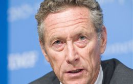 "IMF chief economist Olivier Blanchard said ""less acute risks"" but ""some cautious optimism may indeed be justified"""