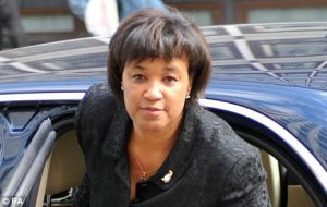 Baroness Scotland made history in 1991 by becoming the first black woman to be appointed a Queen's Counsel