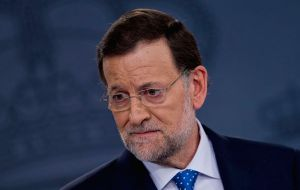 Rajoy says it will fight on constitutional grounds any attempt to hold a referendum on secession from Spain