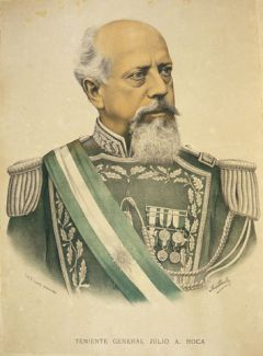 General Julio Argentino Roca, later president and the man who 'wiped out' the handful of savages during his famous Desert campaign