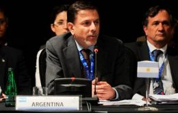Deputy Foreign minister addressing the CELAC summit