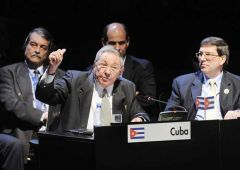 The 81-year old leader addresses the CELAC summit and calls for Puerto Rico's integration