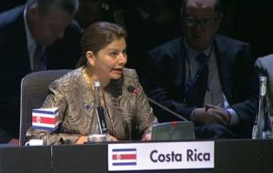 The two year period will be split between Castro and Costa Rica's president Laura Chinchilla