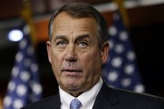 House of Representatives speaker, John Boehner, Ohio Republican