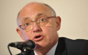 """This is a sovereign act that doest not include the state of Israel"", said Timerman"