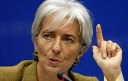 Christine Lagarde must report on the Argentine situation next November