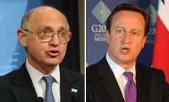 Timerman blames Cameron for the 'cancelling' of his meeting with Hague