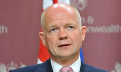 Hague's offer for a meeting with Timerman still stands, says Foreign Office