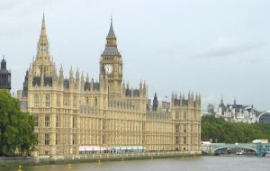 British Parliament, the scenario for Argentina's presentation of its Malvinas case