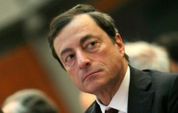 """We want to see if the appreciation is sustained and if it alters our assessment of the risks to price stability"", said Draghi"