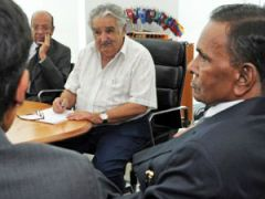 Steel Minister Verma with President Mujica