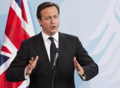 """Put simply: Britain works. Britain works well. Why break it?"", said PM Cameron"