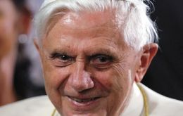 The frail Benedict XVI is stepping down as Pope at the end of the month
