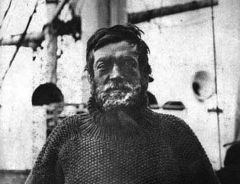 Shackleton's motto: 'by endurance we conquer'