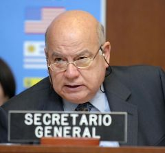 Secretary General Insulza said that OAS has sent observers to over 200 electoral processes in Latam