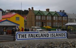 Falklands had no indigenous people living on them when first settled