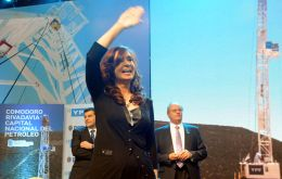 President Cristina Fernandez announced the good news: the Argentine economy expanded 1.9% last year