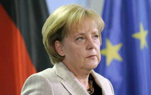 Bad news for Chancellor Angela Merkel who faces a federal election next September